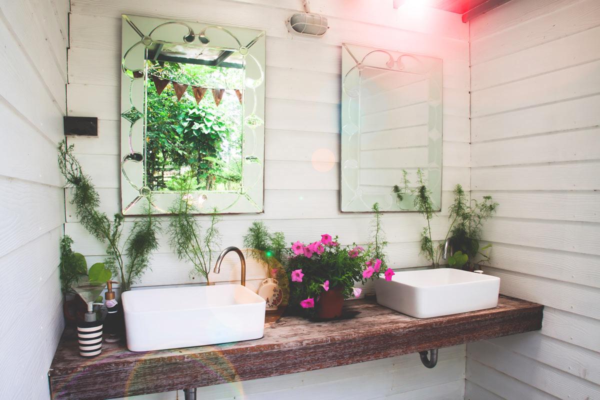 Planche En Bois Deco 15 idées déco nature pour la salle de bain relaxez-vous!